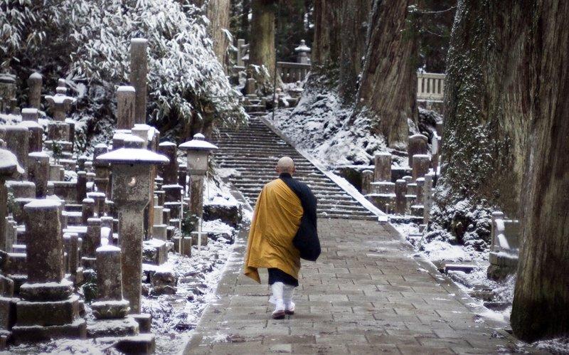 Lone Monk, Koya-san