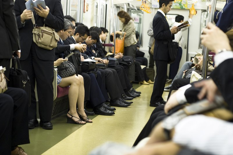 A woman in a man's world - Tokyo, Japan