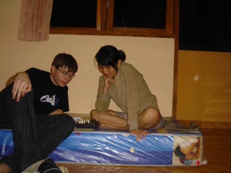 Sebbe & Desi schackar