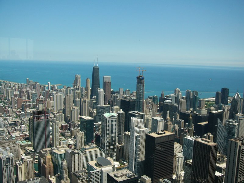 Chicago, view from Sears Tower