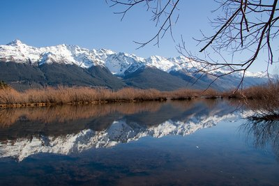 Beautiful Reflections on Lake Wakatipu