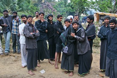 Pilgrims Pause on Their Journey