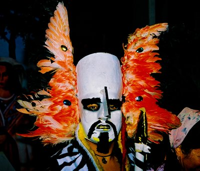 Traditional Bolivian Dance Mask - La Paz