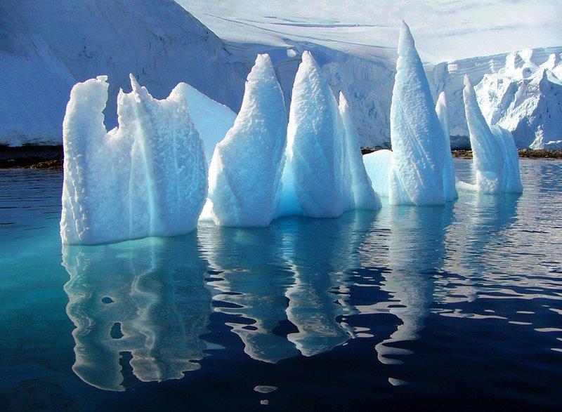 Upturned Iceberg