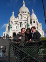 Us in front of the church