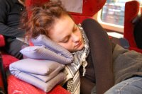 sleeping on the Thalys
