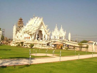White Temple, Chiangrai.