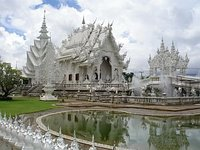 The only White Temple in Thailand.