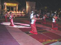 northern thai dance.
