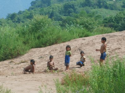 Lao Kids Playing