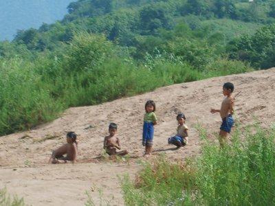 Lao Kids Playing