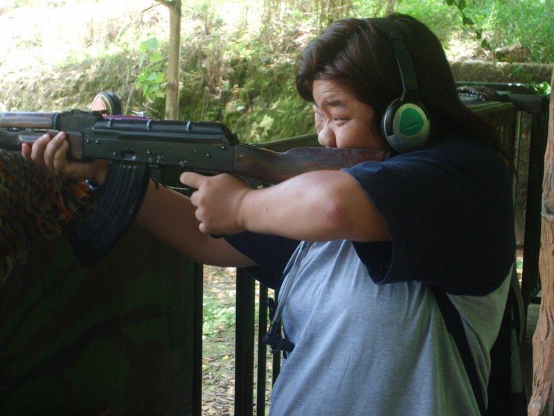 Shooting@Cu Chi