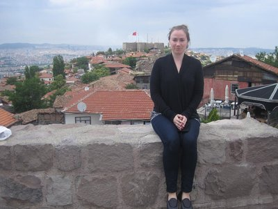 Me at the castle in Ulus