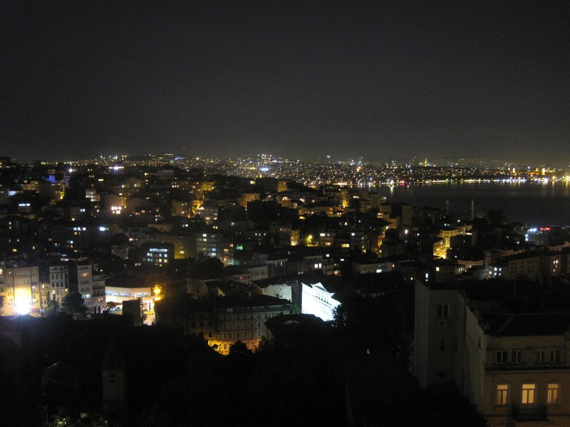 Nightview of Istanbul
