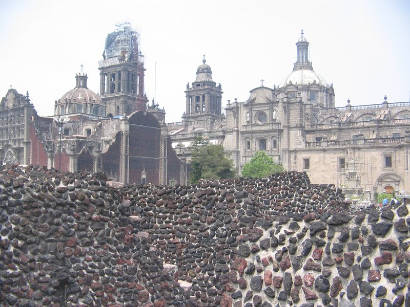 El templo mayor y la catedral