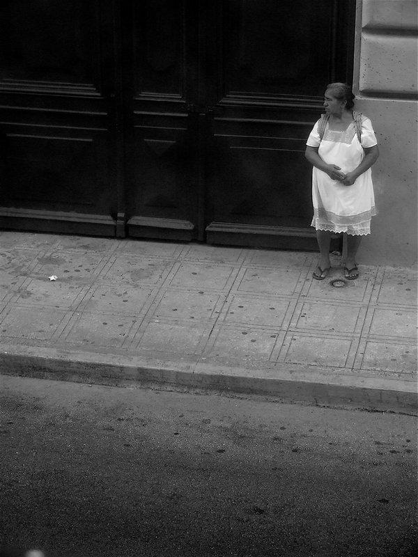 Waiting Woman