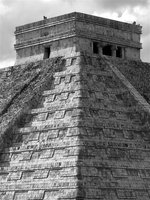 Temple of Kukulcan at Chichen-Itza