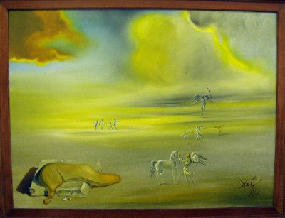 Angelic Landscape by Salvador Dali