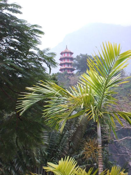 Pagoda at Taroko Gorge