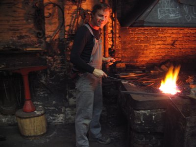 Blacksmithing in the Zuiderpershuis