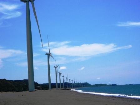 wind mill in ilocos
