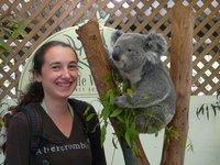Me and a Koala