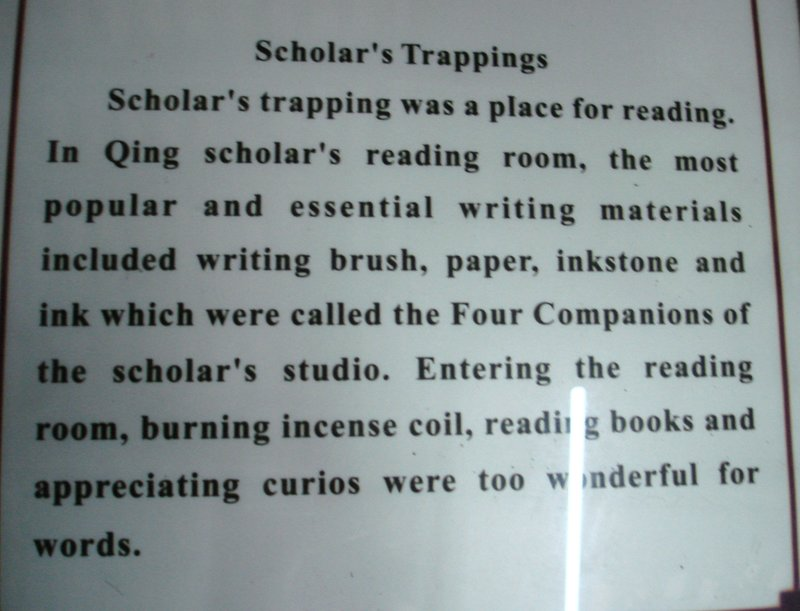 Scholar's Trappings