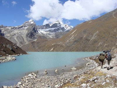 14 second lake, gokyo