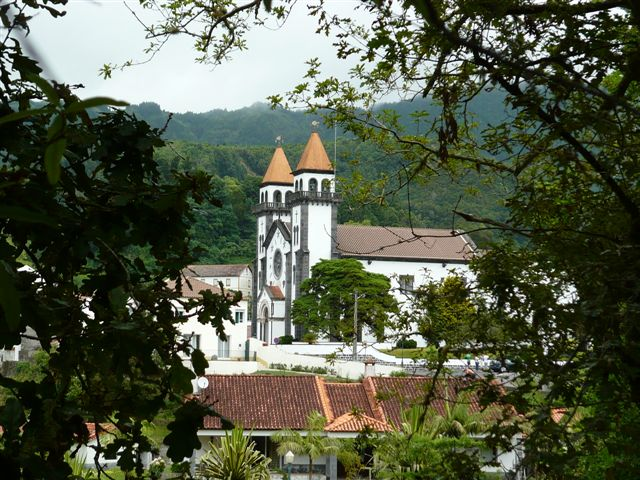 Azores - Furnas Church