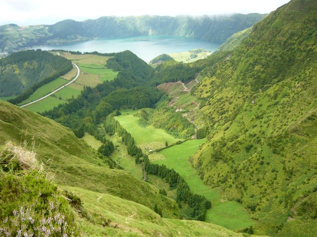 Azores - Mountain View