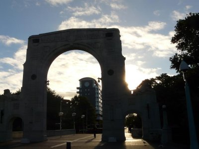Christchurch - Rememberance Archway