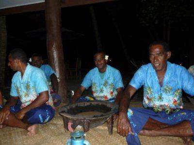 Fiji - Kava welcome cermony