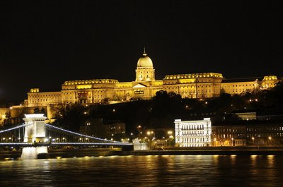 Budapest - Royal Palace By Night
