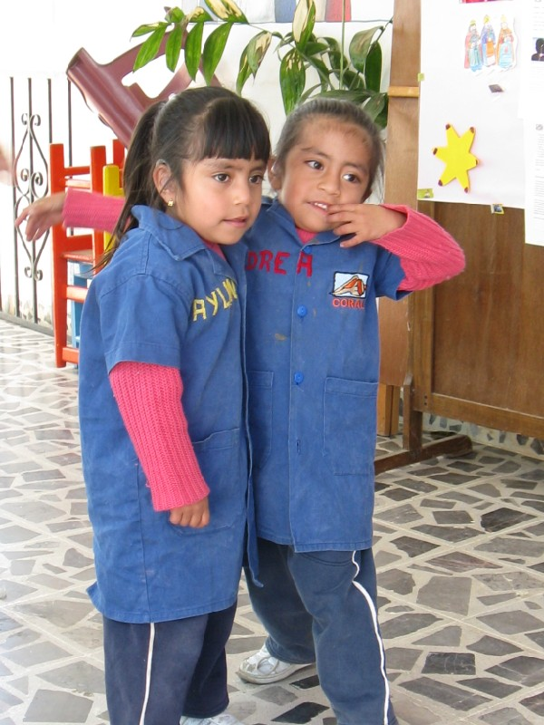 Hearing Impaired Children at CORAL Therapy Center in Oaxaca