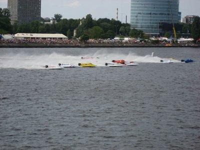 Formula 2 Motor Race in Riga
