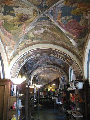 Interior of Vilnius University bookshop