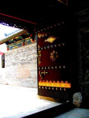 A New Wooden Door