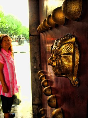 A Curious Door