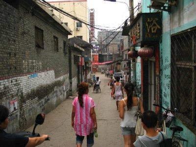 A Narrow Street to a Ming Dynasty Pagoda