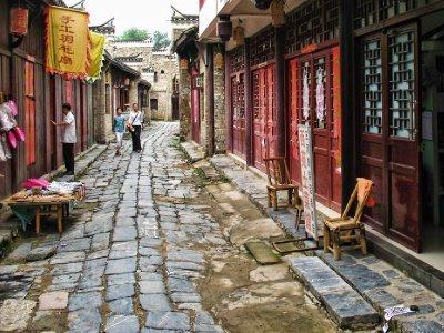 Sanhe street scene
