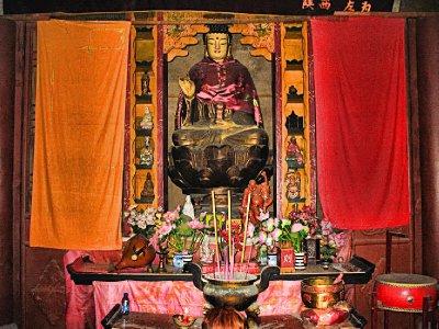 An Orange Buddha