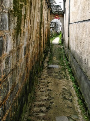 Another narrow alley