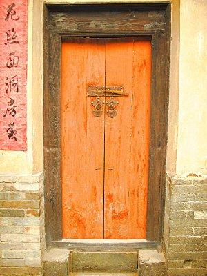 And behind the Orange Door