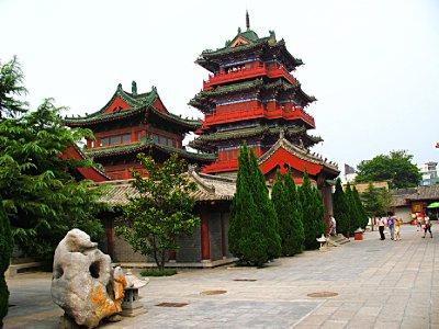 Pagoda Courtyard area