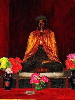 Red Buddha Close