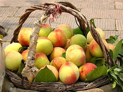 I loved this time of year in China - Peaches!!