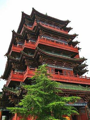 Pagoda up close