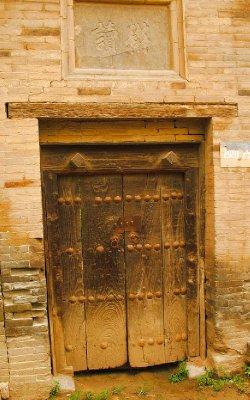 Hey, it is an old wooden Door