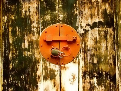 Lock picture - almost as good as knocker pictures