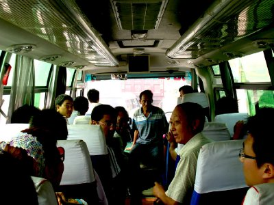 The bus to Shaolin
